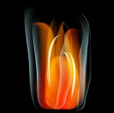 Burn flame fire  abstract background. Burn flame fire abstract background. Vector. EPS10 Stock Images