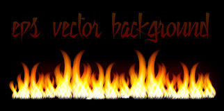 Burn flame fire  background Stock Photos