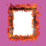 Burn frame. Stock Photos