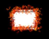 Burn frame. Stock Image
