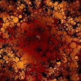 burn golden Στοκ Εικόνα