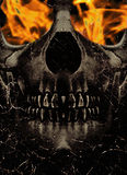 Burn in Hell Royalty Free Stock Photo