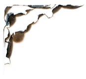 Burn hole Stock Images