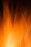 Burn hot fire flame dark background Royalty Free Stock Photo