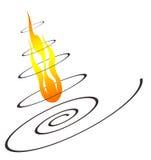 Burn icon Stock Photos