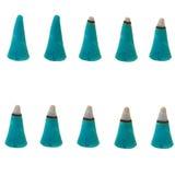 Burn incence cone set Stock Image