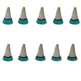 Burn incence cone set Royalty Free Stock Photo