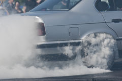 Burn out Stock Image