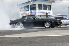 Burn out contest Stock Images