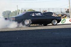 Burn-out de Chevrolet Camaro Images stock
