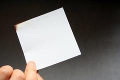 Burn paper Stock Photos