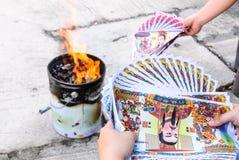 Burn paper Culture Stock Photos