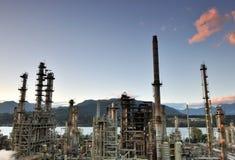 burnaby διυλιστήριο πετρελαί&omi στοκ φωτογραφία