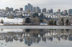 Burnaby and Oakland Village Stock Image