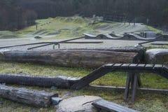 Burnaby umiejętności Halny Rowerowy park Fotografia Royalty Free