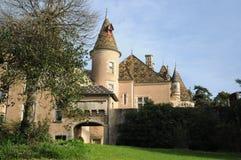 Burnand Castle/Chateau de Burnand Στοκ Φωτογραφία