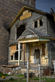 Burned Abandoned House Royalty Free Stock Photos
