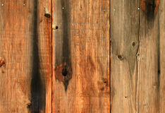 Burned barn wood. Royalty Free Stock Image