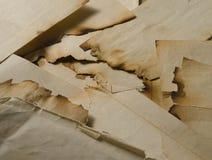 Burned documents Stock Photo