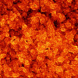 Burned flame background Royalty Free Stock Photos