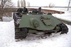 Burned german tank Royalty Free Stock Photos