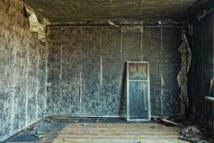 Burned interior Royalty Free Stock Photo