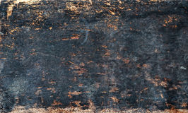 Burned old wood texture. Burnt old wood texture abstract background stock images