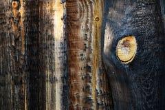 Burned old wood Royalty Free Stock Photo