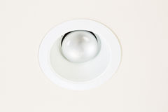 Burned Out Flood Light in Ceiling Stock Photography