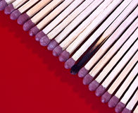 Lots of matches Stock Photo
