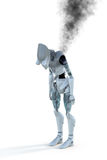 Burned Out Robot Stock Photo