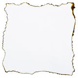 Burned paper. A burned paper edge background Stock Photo