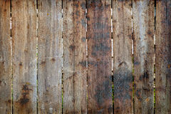 Burned timber fence Royalty Free Stock Photos