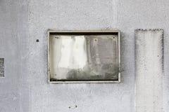 Burned wall Stock Image