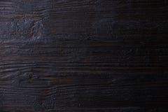 Burned wooden background Stock Images