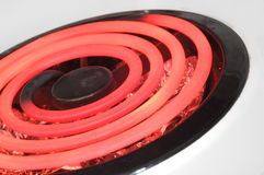 Burner. Red hot burner royalty free stock image