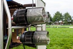Burner air balloon Stock Photos