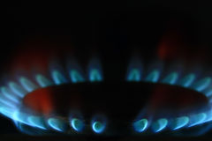 Burner gas cooker Stock Photo