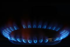 Burner gas cooker Royalty Free Stock Images