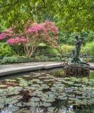 Burnett喷泉 库存照片