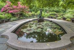 Burnett喷泉 免版税库存图片