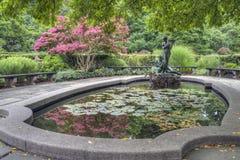 Burnett Fountain stockbild