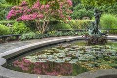 Burnett Fountain stockfotos