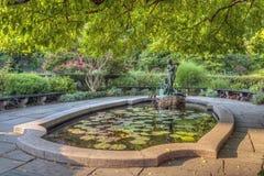 Burnett Fountain stockfotografie
