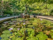 Burnett Fountain lizenzfreies stockfoto
