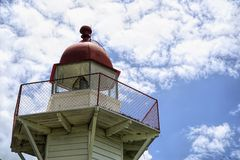 Burnett Heads Lighthouse Bundaberg Australia fotografía de archivo