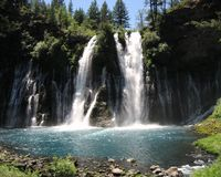 Burney Falls Royalty Free Stock Images