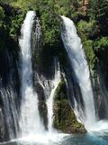Burney Falls Royalty Free Stock Photography