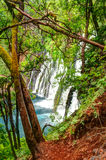 Burney Falls waterfall in California near Redding Royalty Free Stock Image