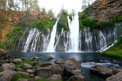 burneyKalifornien falls Royaltyfri Foto